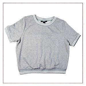 Camiseta FOREVER 21 Cinza