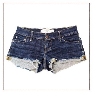Shorts Jeans Abercrombie