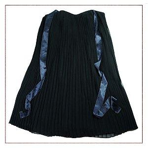 Vestido Daslu Plissado