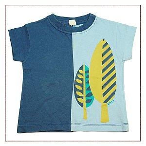 Camiseta Green Estampa Azul