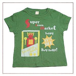 Camiseta Green Estampa Verde