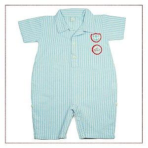 Body Camisa Baby Classic Listrado