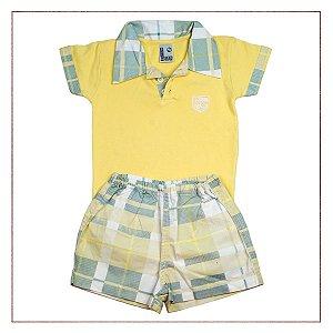 Conjunto Polo e Shorts Infantil Boys Wear