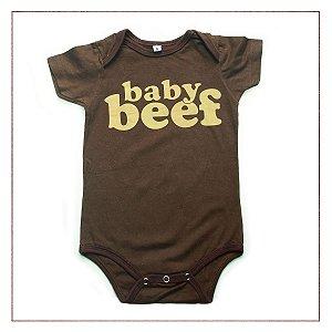 """Body Infantil Frases """"Baby Beef"""""""