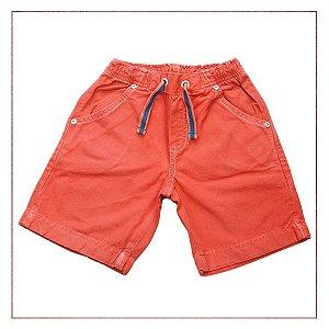 Shorts Laranja Alphabeto