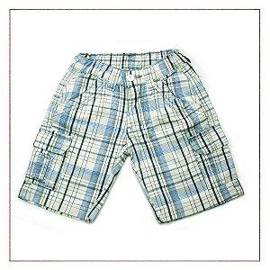 Shorts Zara Xadrez