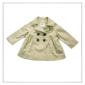 Casaco Old Navy Infantil Trench Coat