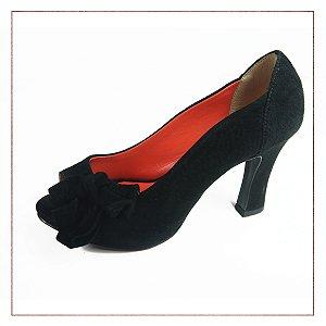 Peep Toe Camurça My Shoes
