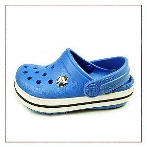 Crocs Infantil Sandália Azul
