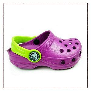 Crocs Infantil Sandália Roxo