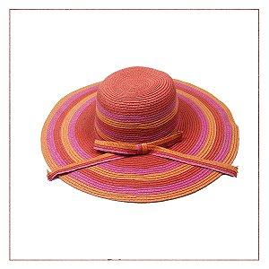 Chapéu Palha Colorido