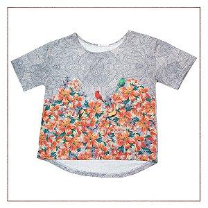 5db7303940 Camiseta Maria Filó Estampada