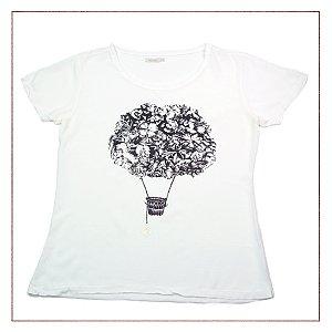 Camiseta Maria Filó Branca