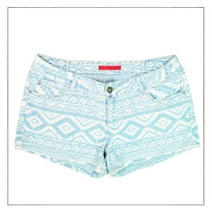 Shorts jeans C&A Estampado