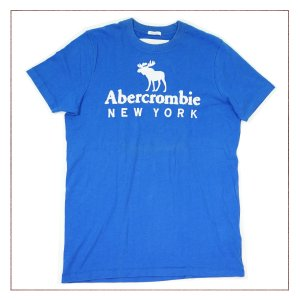Camiseta Abercrombie Azul 5c3f2c2543d72