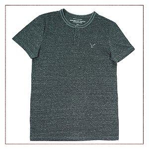 Camiseta American Eagle Cinza Chuviscado