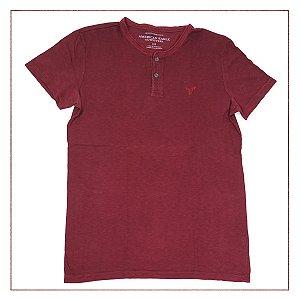 Camiseta American Eagle Vinho