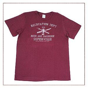 Camiseta Hering Vinho
