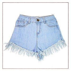 Shorts Look&Soul Claro Desfiado