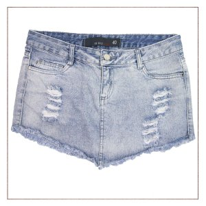 Saia For Girls Jeans Destroyed