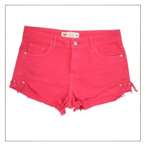 Shorts Pool Rosa Queimado