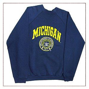 Moletom Michigan Azul