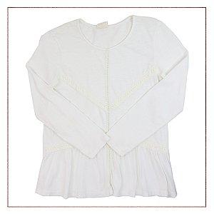 Blusa Zara Branca