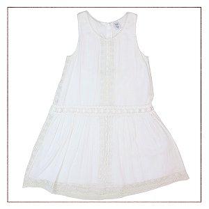 Vestido Zara Branco Infantil