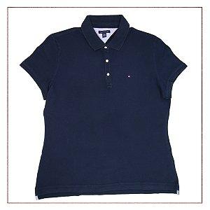 Camisa Tommy Hilfiger Azul Marfim