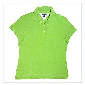 Camisa Tommy Hilfiger Verde Claro