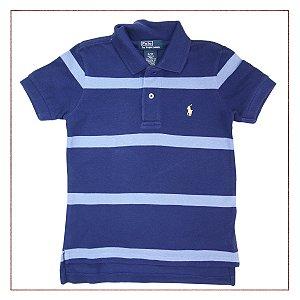 Camisa Azul Polo Ralph Lauren