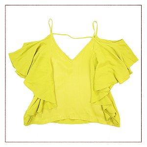 Blusa Shoulder Verde