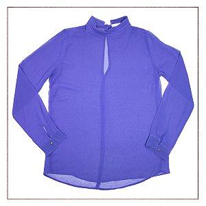 Camisa Zara Roxa