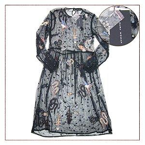 NOVO Vestido Zara Transparência