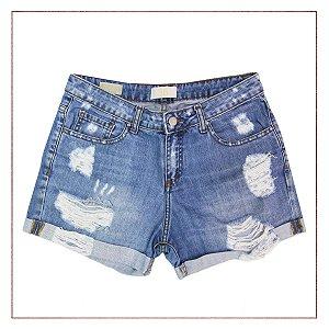 Shorts Zara Destroyed