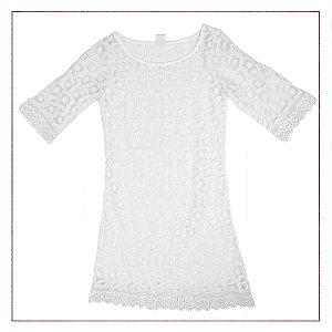 Vestido Bossa Nossa Branco