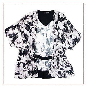 Kimono Shoulder Estampado
