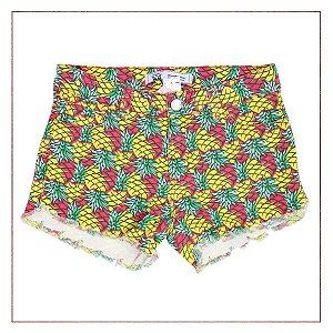 Shorts Gringa.com Abacaxi