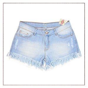 Shorts Jeans B.Rock Claro