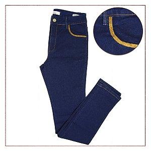 Calça Jeans Azul Escuro B.Rock