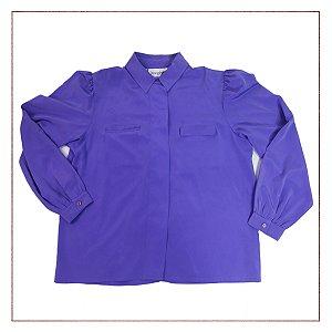 Camisa Josephine Roxa