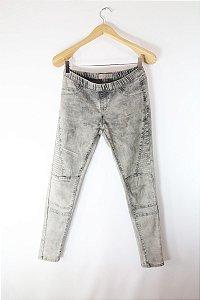 Calça Jeans Cinza Denim&Co.