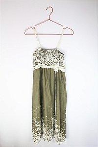 Vestido Celine Verde