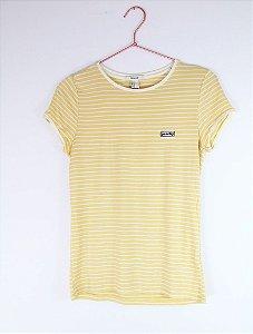 Camiseta Forever 21 Amarela