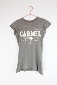 Camiseta Blue 84 Cinza