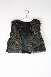 Colete Peludo Fama Fashion