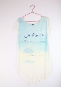 Camiseta Hering Je T'aime