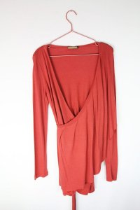 Blusa Spezzato Vermelha