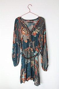 Vestido Zara Cinto