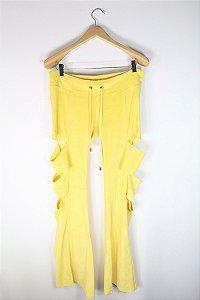 Calça Thorrè Moletom Amarelo